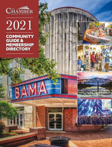 The Chamber of Commerce of West Alabama Community Guide and Membership Directory