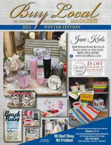 NEC Winter Buy Local Magazine 2021